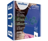Mesaverde Respirátor FFP2 NR-5ks tmavě modrý