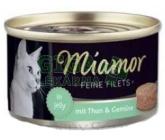 Miamor Feine Filets cat konz. - tuňák, zelenina 100g