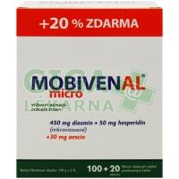 MOBIVENAL micro 100+20 tablet zdarma