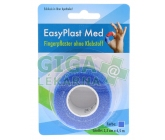 Náplast na prsty samolep.elast. 2,5cmx4,5m modrá 1ks