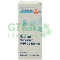 Natrium chloratum DHU 80 tablet D6 (No.8)