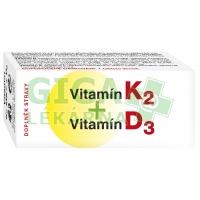 Naturvita Vitamín K2+D3 60 tablet