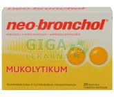 Obrázek Neo-Bronchol pastilky 20x15mg