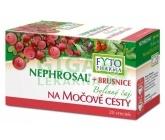 Nephrosal+brusinky bylinný čaj 20x1.5g Fytopharma
