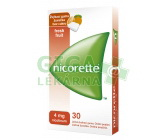 Obrázek Nicorette Freshfruit Gum 4mg 30 žvýkaček