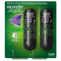 Nicorette spray duopack