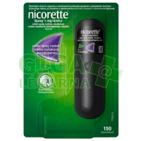 Nicorette spray 1mg/dávka 150 dávek