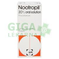Nootropil 20% Oral Solution 125ml