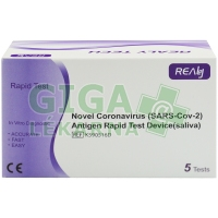 Novel Coronavirus Antigen Rapid Test - RealyTech - 5ks