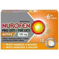 Nurofen pro děti Active rychle rozpustné tablety 12x100mg