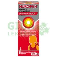 Nurofen sirup pro děti od 6 do 12 let 100ml jahoda