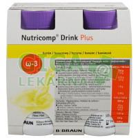 Nutricomp Drink Plus Banán por.sol. 4x200ml