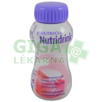 Nutridrink 200ml Jahoda