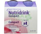 Nutridrink Compact s přích.Jahod. por.sol.4x125ml