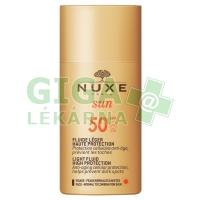 NUXE SUN FLUID SPF50 50ml opal. fluid na obličej