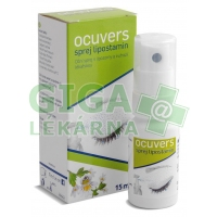 Ocuvers spray Lipostamin oční sprej 15ml