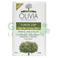 Olivia Řecké Olivové mýdlo s výtažkem olivových květů 115g