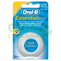 Oral-B dentální nit EssentialFloss Mint Wax 50m