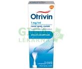 Obrázek Otrivin nosní sprej 1mg/ml 10ml s dávkovačem