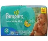 PAMPERS Active Baby VPP 3 Midi 68ks