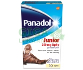 Panadol Junior 250mg sup. 10 CZ