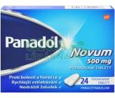 Obrázek Panadol Novum 500mg 24 tablet