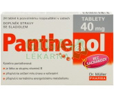Panthenol tablety 40mg tbl.24