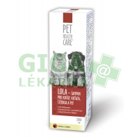 PET HEALTH CARE LOLA šamp. kočky antiparaz. 200ml