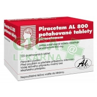 Piracetam AL 800mg 100 tablet