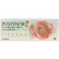 Postinor-2 0.75mg 2 tablety