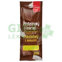 Proteinový koktejl čokoládový s kokosem 30g Semix