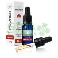 Puurex 15% CBD olej (1500mg) 10ml