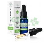 Puurex 5% CBD olej (500mg) 10ml