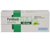 Pyridoxin Generica tbl.60