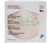 Respirátor FFP2 PREMIUM - růžový 5ks