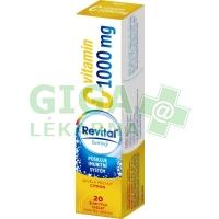Revital C vitamin 1000mg Citron 20 šumivých tablet