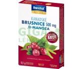 Revital Kanadské brusinky Akut 500 mg cps.15
