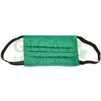 Rouška textil. zelená 1ks