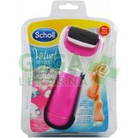 Scholl Velvet Smooth Elektrický pilník na chodidla růžový
