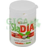 SlaDIA SWISS sladidlo 600 + 100 tablet ZDARMA