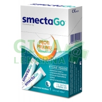 SmectaGo Diosmectitum 3g 12 sáčků