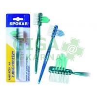 SPOKAR kartáček na zubní protézy 3460 Z 1ks