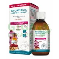 STOPBACIL Medical sirup Dr. Weiss 200+100ml NAVÍC