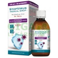 STOPVIRUS Medical sirup Dr. Weiss 100+50ml NAVÍC