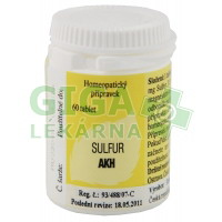 Sulfur AKH - 60 tablet