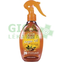 SUN Opal. mléko s arganovým olejem SPF20 200ml