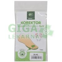 svorto 051 Korektor kladívkových prstů v.1(36-40)P