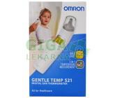 Teploměr Omron GentleTemp 521 multif.bezkont.s pam