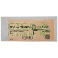 Test na pervitin (metamfetaminy) z moči 2ks