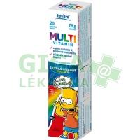 The Simpsons Multivitamin 20 šumivých tablet